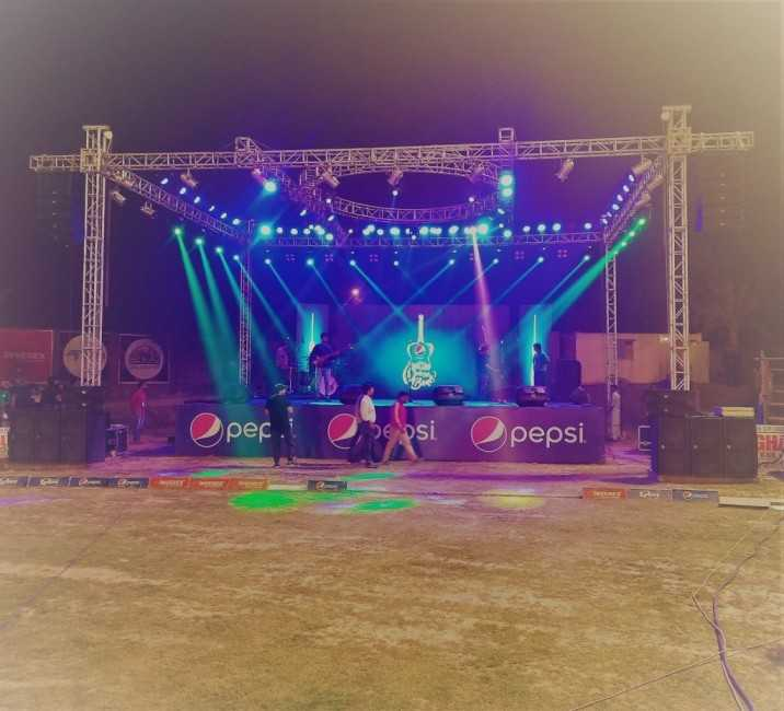 Musical concert Kingston ground Lahore